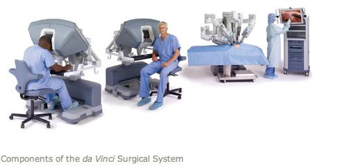 da Vinci апаратура за робот-асистирана операция на простатата
