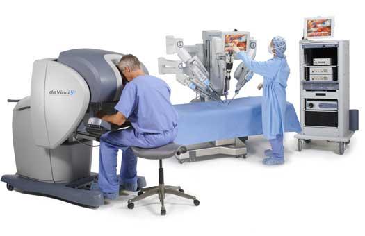 Роботизирана хирургична система DaVinci