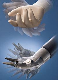 Робот ДаВинчи - движение на инструмантите